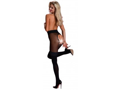 Open crotch tights open crotch like stockings - 2