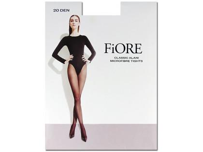 Sheer microfibre tights, panty-free 20den