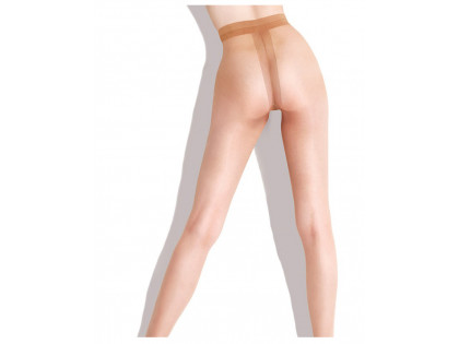 Thin smooth tights without a pantyhose 10 den