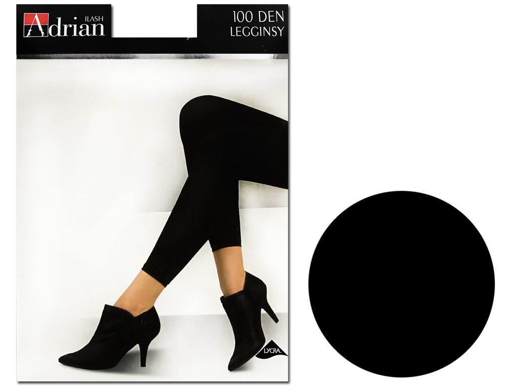 Women's leggings 100 den covering