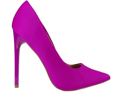 Women's high stilettos pink fushia - 1