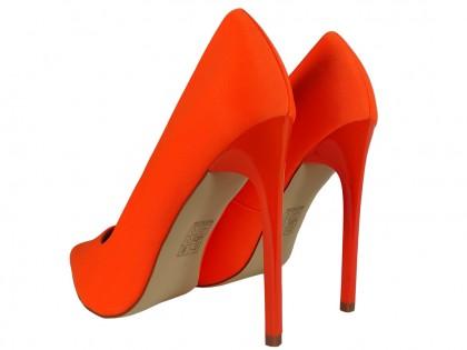 Women's high stilettos orange - 2