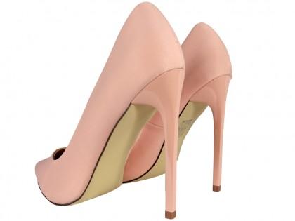 Női magas tűsarkú világos rózsaszín rózsaszín - 2