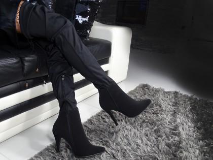 Overknee-Stiefel für Frauen mit Stretch - 2