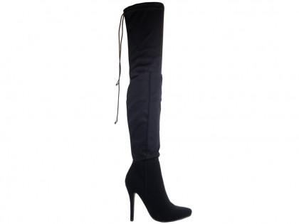 Overknee-Stiefel für Frauen mit Stretch - 1