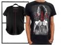 Men's black t-shirt erotic print - 3
