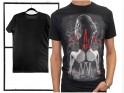 Black t-shirt for men with erotic print - 3