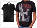 Erotic print men's t-shirt black - 3