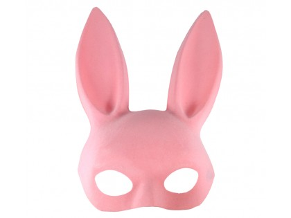 Pink rabbit eye mask - 2
