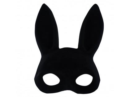Black rabbit eye mask - 1