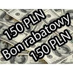 BON RABATOWY 150 PLN